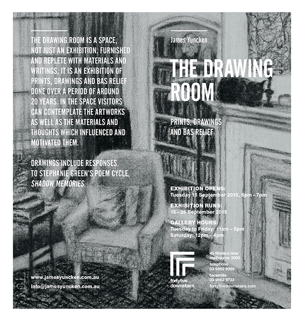 Poster for The Drawing Room 2015